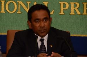 大統領 アブドッラ・ヤミーン・アブドゥル・ガユーム 写真 2
