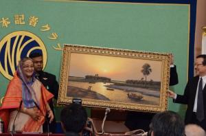 首相 シェイク・ハシナ 写真 3