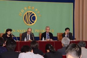 原子放射線の影響に関する国連科学委員会(UNSCEAR)議長 カール=マグナス・ラーソン  写真 3