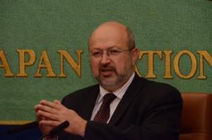 欧州安全保障協力機構(OSCE)事務総長 ランベルト・ザニエル 写真 1
