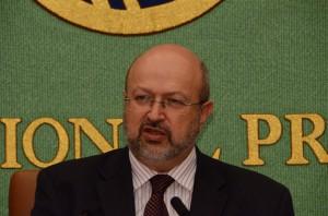 欧州安全保障協力機構(OSCE)事務総長 ランベルト・ザニエル 写真 2