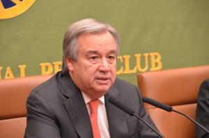国連難民高等弁務官 アントニオ・グテレス 写真 2