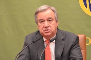 国連難民高等弁務官 アントニオ・グテレス 写真 1
