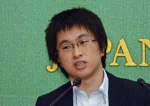 成蹊大学准教授 板橋拓己 写真 2