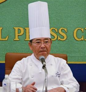 「料理ボランティアの会」会見と福島スイーツ・アフタヌーンティー 写真 2