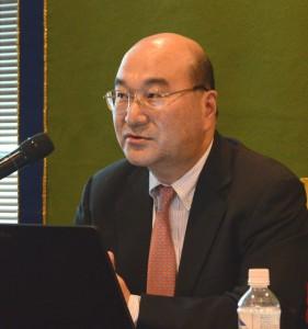 第29回日本エイズ学会学術集会・総会会長 岡慎一 写真 2