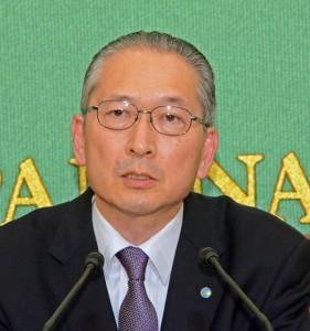 連合会長 神津里季生 写真 2