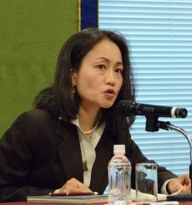 モルディブ国連常駐調整官兼国連開発計画(UNDP)常駐代表 野田章子 写真 2