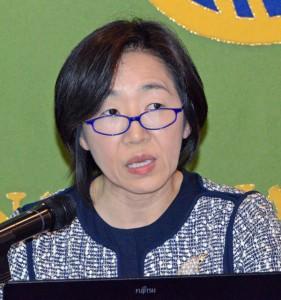 国連本部経済社会局統計部次長 大崎敬子 写真 2