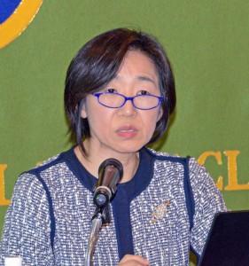 国連本部経済社会局統計部次長 大崎敬子 写真 1