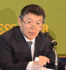 清華大学国情研究センター長 胡鞍鋼 写真 1