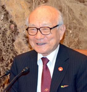 日本原水爆被害者団体協議会事務局長 田中煕巳 写真 1