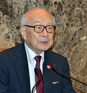 日本原水爆被害者団体協議会事務局長 田中煕巳 写真 2