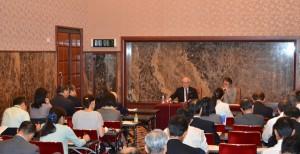 日本原水爆被害者団体協議会事務局長 田中煕巳 写真 4