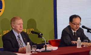 北朝鮮における人権に関する国連調査委員会元委員長 マイケル・カービー  写真 3