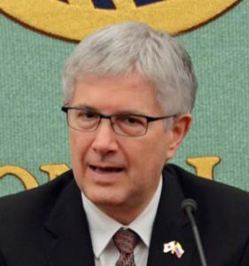 駐日大使 ガブリエル・ドゥケ  写真 2