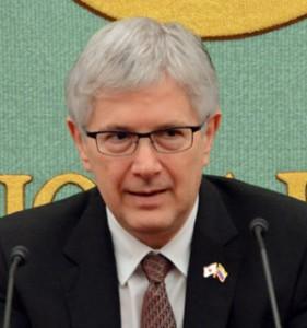 駐日大使 ガブリエル・ドゥケ  写真 1