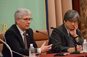 駐日大使 ガブリエル・ドゥケ  写真 3
