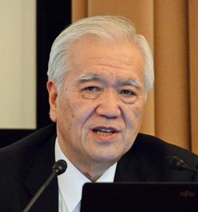 国際通貨研究所理事長 渡辺博史 写真 1