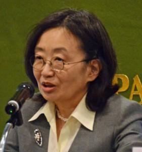 国際刑事裁判所(ICC)第二次長 尾崎久仁子 写真 2
