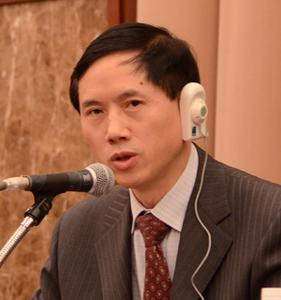 中国経済学者代表団 写真 1