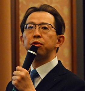 内堀雅雄 福島県知事 会見 写真 1