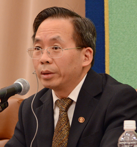 中国経済学者代表団 写真 2