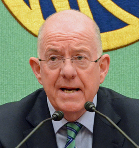 チャールズ・フラナガン アイルランド外務貿易大臣 写真 2