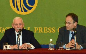 ウィリアム・レイシー・スウィング 国際移住機関(IOM)事務局長 会見 写真 3