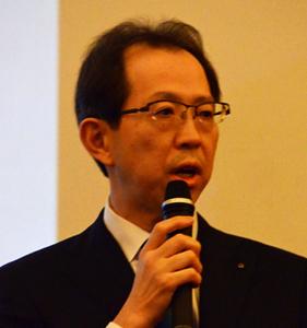 内堀雅雄 福島県知事 会見 写真 2