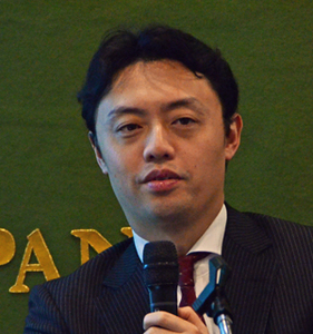 松尾豊 東京大学大学院工学系研究科特任准教授  「AIと日本企業の競争力」 写真 1