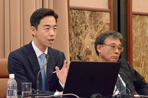 研究会「韓国大統領選挙と新政権の課題」西野純也 慶應大学教授 写真 3