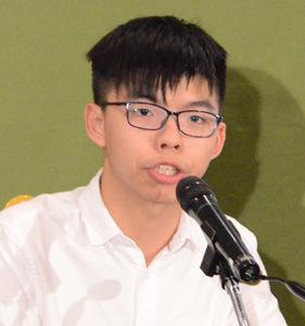 香港政党デモシスト幹部 会見 写真 2