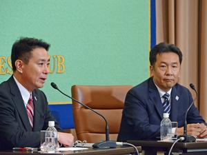 民進党代表選立候補者討論会 写真 1