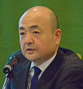 片山和之 在上海総領事 著者と語る『対中外交の蹉跌 上海と日本人外交官』 写真 2