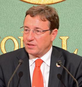 アヒム・シュタイナー 国連開発計画総裁 会見  写真 2