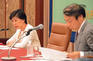 中満泉 国連軍縮担当上級代表(事務次長)会見 写真 3