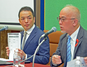 第31回日本エイズ学会 会見 写真 1