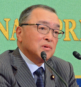 宮沢洋一 自民党税調会長 会見 写真 1