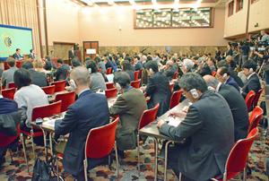 ハガティ 駐日米国大使 会見 写真 5