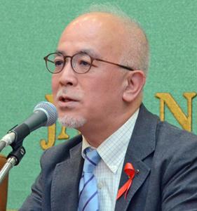 第31回日本エイズ学会 会見 写真 3