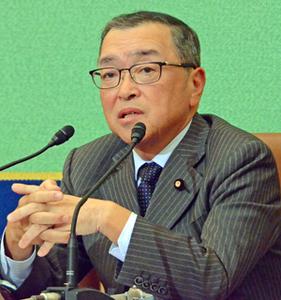 宮沢洋一 自民党税調会長 会見 写真 2