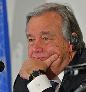 グテレス 国連事務総長 会見 写真 2