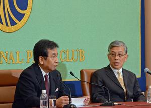枝野幸男 立憲民主党代表 会見 写真 3