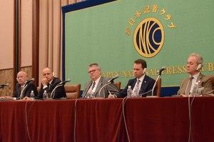 第2回 北欧5カ国駐日大使共同会見 写真 1