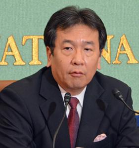 枝野幸男 立憲民主党代表 会見 写真 2