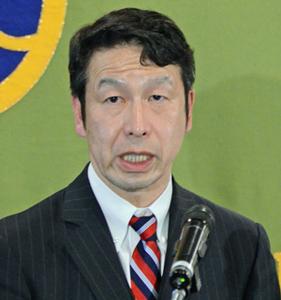 米山隆一 新潟県知事 会見 写真 1