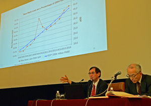 「2018年経済見通し」(2)中国経済とアジア 吉野直行 アジア開発銀行研究所所長 写真 3