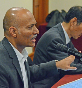プラディープ カッカティル UNAIDSドナー関係・パートナーシップ局局長 会見 写真 2