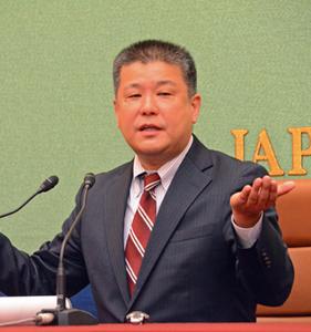 「被害者報道を考える」(2) 武内大徳弁護士 写真 1